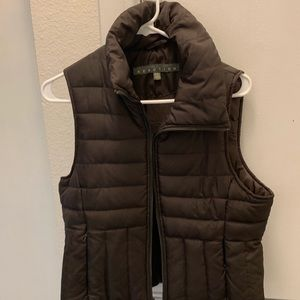 Kenneth Cole Reaction Brown Puffer Vest